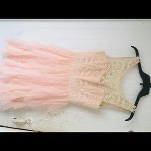 Teeze Me frilly pink dress